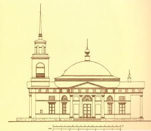 062 Никольская церковь село Кленовское план